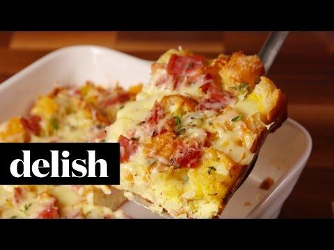 Ham & Cheese Brunch Bake | Delish