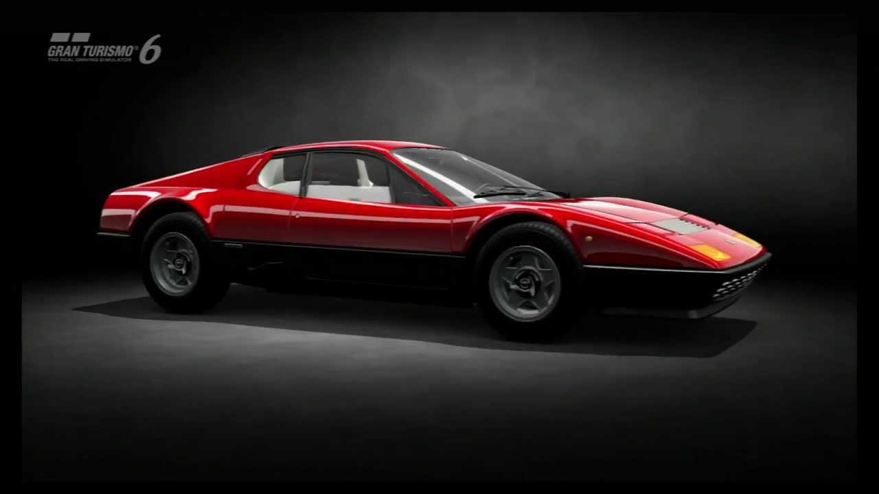 Gran Turismo 6 GT6 Showroom Ferrari 512 BB