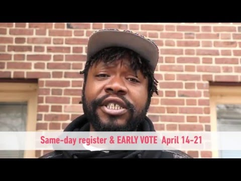 Citizen Artist Baltimore Eze Jackson Arts Voter
