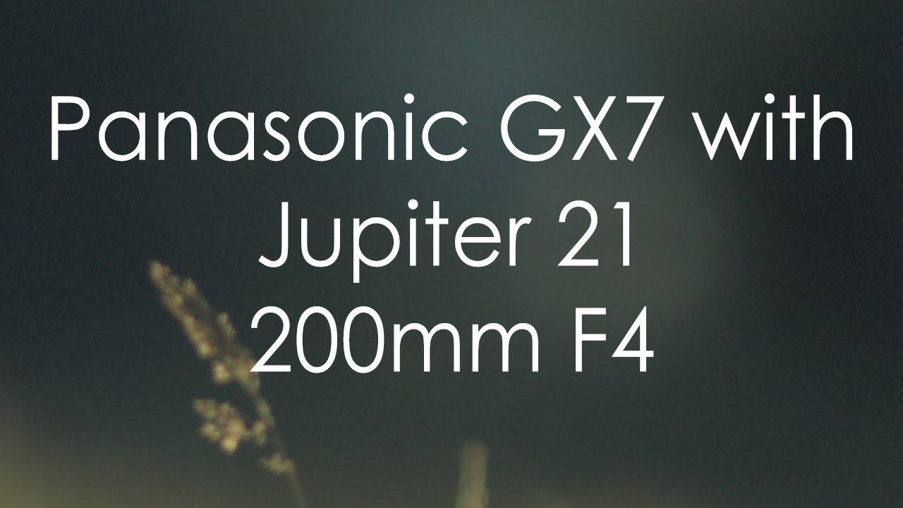 Jupiter 21 200mm F4 - YouTube