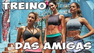 TREINO DAS AMIGAS l com Gabriela Pugliesi, Mari B1, Taty B2, Caio Franco e Lucas Mineiro