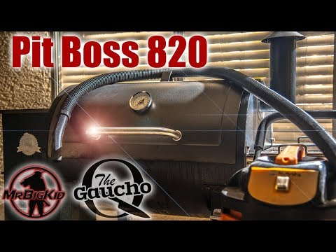 How to Clean the Pit Boss 820 Pellet Smoker / Grill | Seizure Warning!!