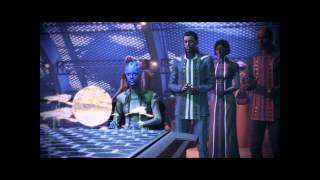 Mass Effect 3 Citadel DLC: Samantha Traynor vs Asari (T'suza) in Castle Arcade [Renegade]