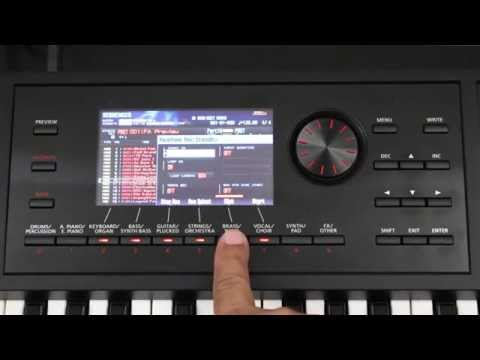 Roland FA-06/08 - How to Create a Basic Sequence