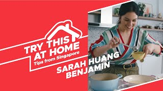 The Instant Noodle Challenge w/ Sarah Huang Benjamin | Try This at Home