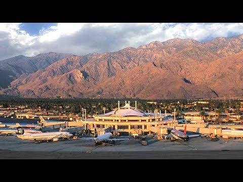 A Walk Around The Palm Springs International Airport
