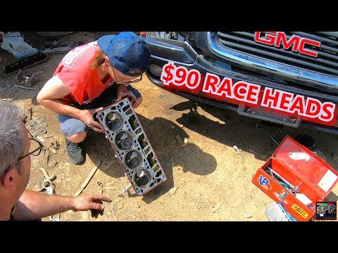 Pulling 799 Heads off a RARE LS Powered Junkyard Vehicle for CHEAP + Turbo LS Nova Streetcaring