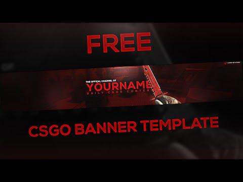 CS:GO Themed Banner Template! (FREE)