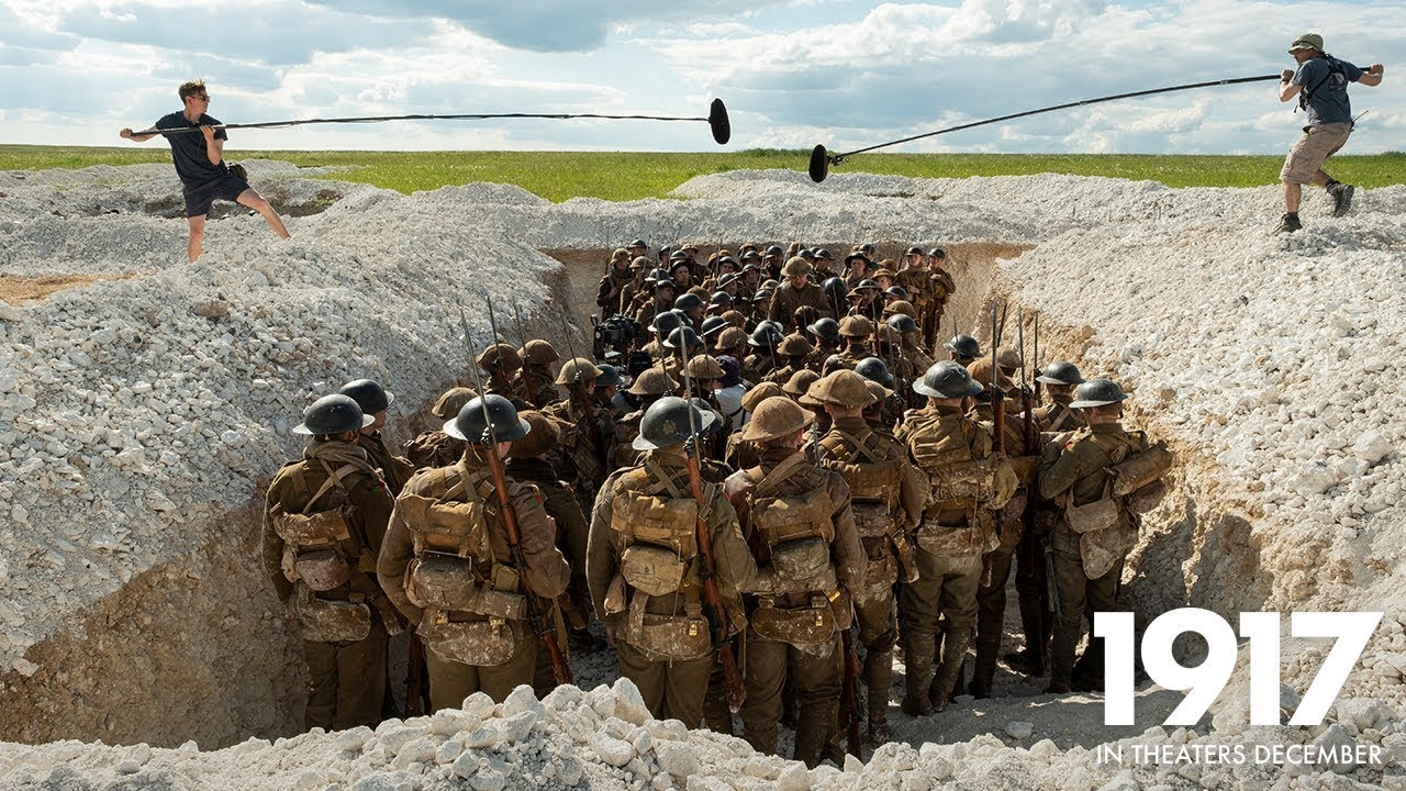 '1917' Featurette Goes Behind-the-Scenes of Sam Mendes' One ...
