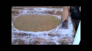 Street Food:  Making Chinese Peanut Candy  花生糖制作  (Hoiping Near Toisan, China)