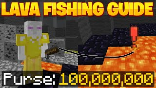 The Complete Guide t๐ Lava Fishing! - Hypixel Skyblock Money Making