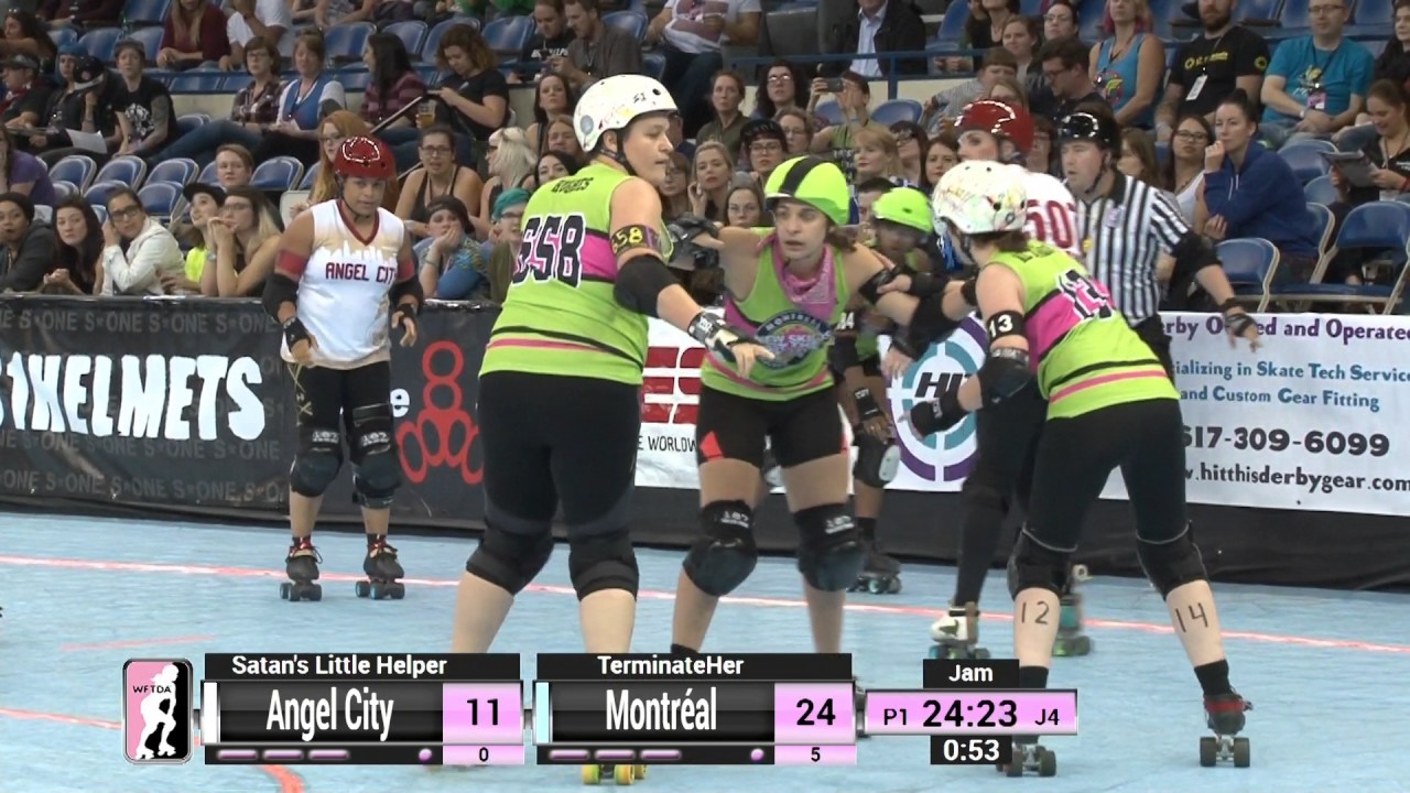 Roller skating montreal - D1 Game 2 Angel City Derby Girls V Montr Al Roller Derby