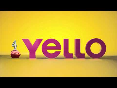 Yello Ad - creative advertising agency - 4th Anniversary video