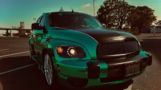 06 CHEVROLET HHR  HEXXISS (CHROME WRAP)