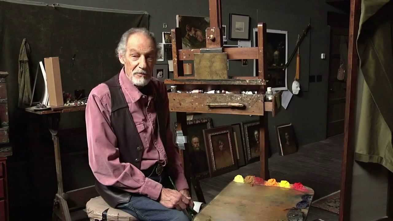David Leffel Artist Painting