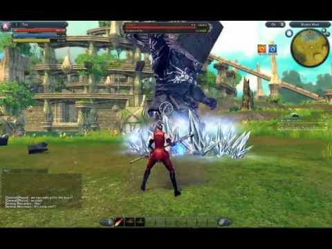Raiderz Gameplay- First Boss