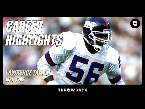 Lawrence Taylor's GREATEST Defensive Player Ever Career Highlights | NFL Legends