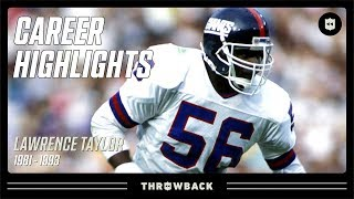 Lawrence Taylor's GREATEST Defensive Player Ever Career Highlights | NFL Legends