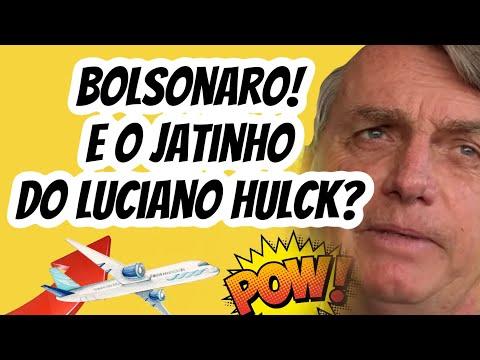 BOLSONARO  MANDARA LUCIANO HUCK DEVOLVER DINHEIRO DO JATINHO  CASO  TENHA INDÍCIOS  DA LEI ROUANET
