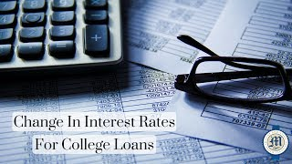 Change in Interest Rates for College Loans | Catherine Marrs Discusses LIVE on the Radio
