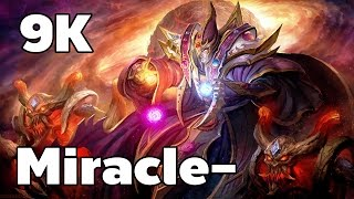 9K Miracle- Invoker Mid Rank MMR Game