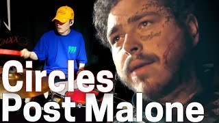 Post Malone - Circles   TJ DRUM COVER