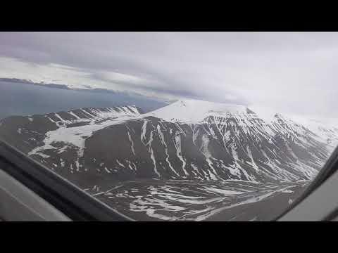 Fly Norwegian Air B737-800 Longyearbyen-Oslo
