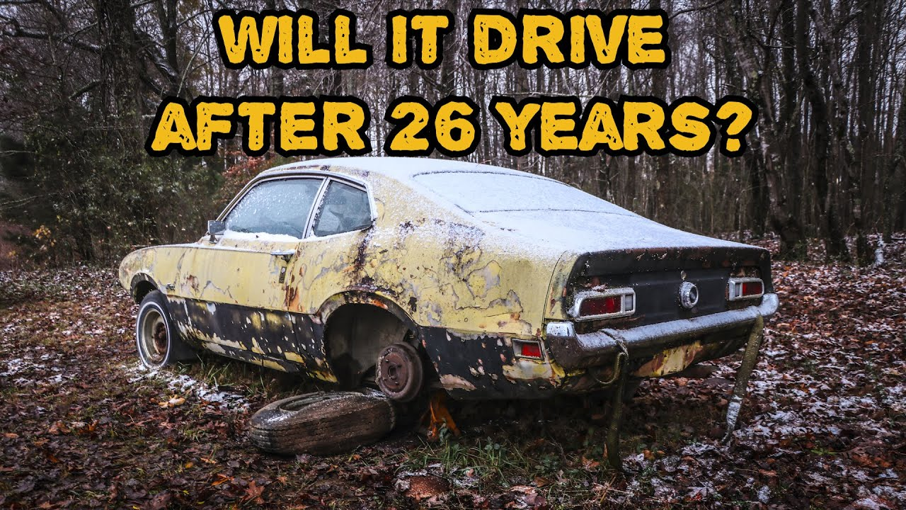 FORGOTTEN SEIZED Ford Maverick WILL IT RUN After 26 Years? Part 3