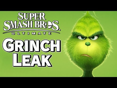 New Evidence Makes Grinch Leak More Convincing - Super Smash Bros. Ultimate – Aaronitmar