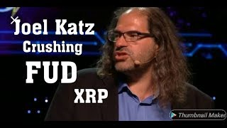 Joel Katz Crushing FUD on Twitter.
