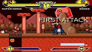 Super Mario vs Kamek MUGEN Battle!!!