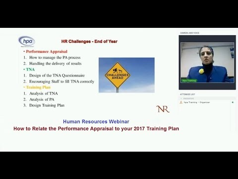 Performance Appraisal Free Webinar to Human Resources
