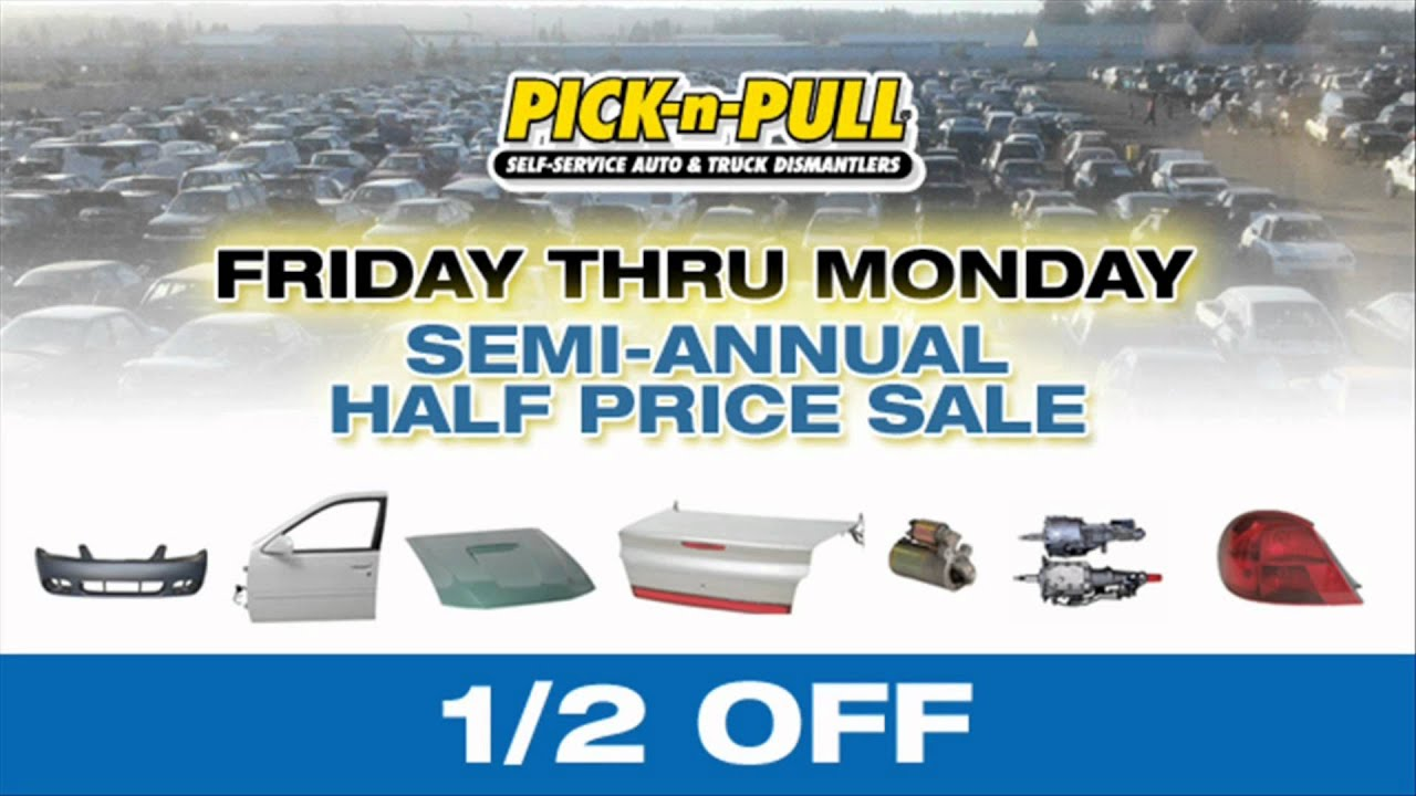 Dorable Pick And Pull Sale Embellishment - Classic Cars Ideas - boiq ...