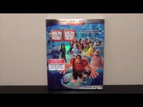 Ralph Breaks The Internet Blu-Ray UNBOXING