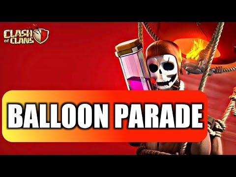 I'M BACK WITH BALLOON PARADE