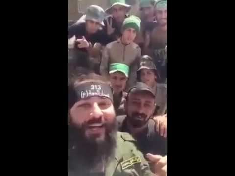 Iranian (IRGC) troops fighting alongside Shia Militias around Fallujah
