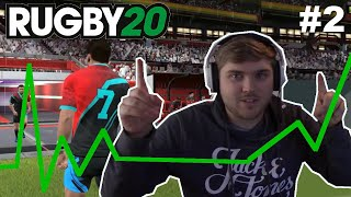 Improving Our Players! - Rugby 20 Solo Mode