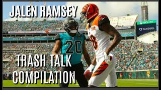 Jalen Ramsey Trash Talk Compilation (2018)