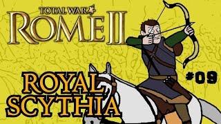 Total War: Rome 2 - Royal Scythian Campaign - Part 9!