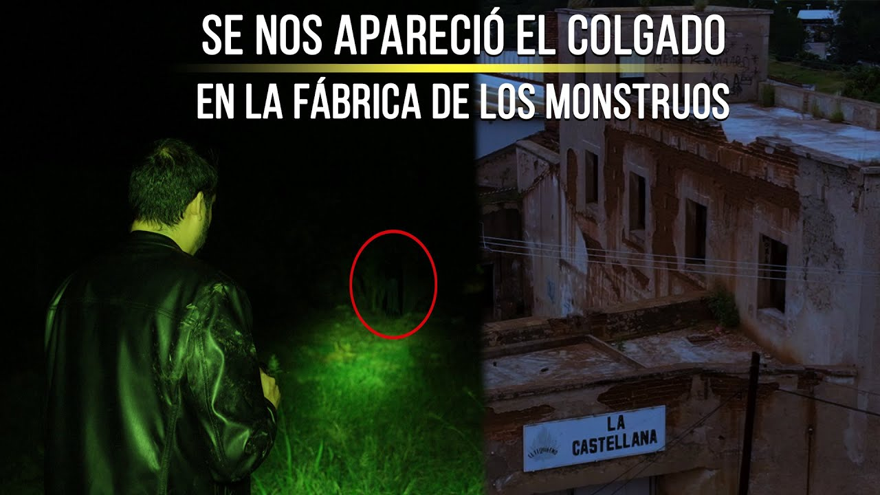 ¡Se nos apareció en la Fábrica de los Monstruos!