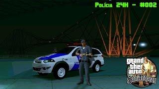 GTA San Andreas - Polícia 24H #001 [Apresentação dos Mods]