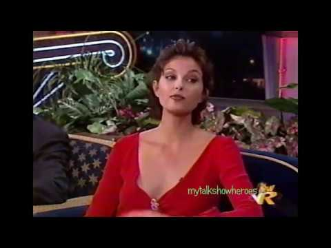 ASHLEY JUDD VISITS with JAY LENO