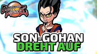 Son-Gohan dreht auf - ♠ Dragon Ball FighterZ Beta ♠ - Deutsch German - Dhalucard