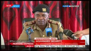Nelson Marwa's full speech on the Governor's security