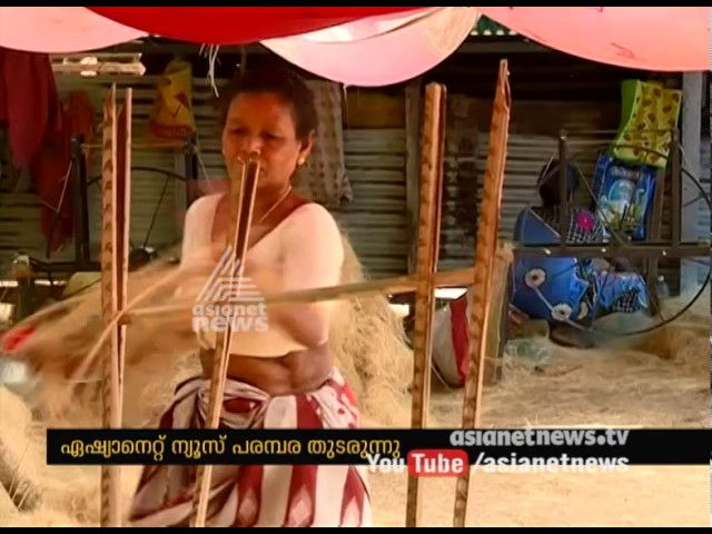 Coir Industry in Paravur is in crisis