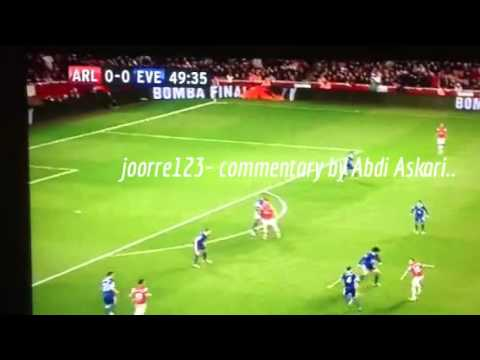Somali Comedy-Arsenal vs everton with Somali Commentry..funny must watch