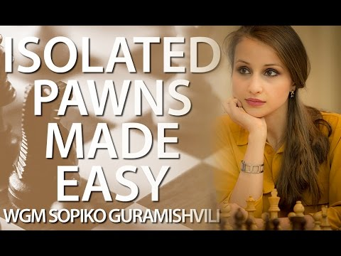 Learn How to ATTACK with an isolated PAWN! - Chess24 - IM Sopiko Guramishvili