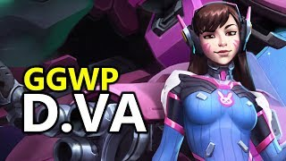 ♥ D.VA GG WP - Heroes of the Storm (HotS Gameplay)