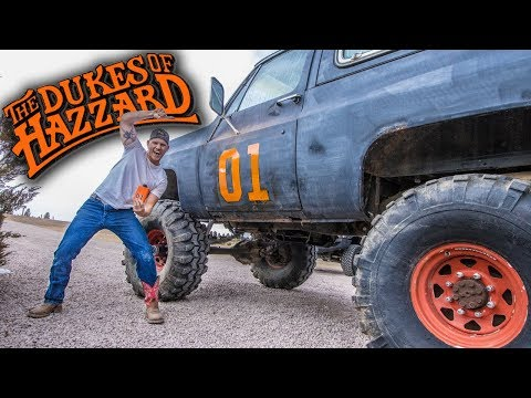 The GENERAL LEE 4x4!!