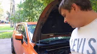 Как снять передний бампер Subaru XV